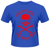 Fall Out Boy- Have Rock & Roll Distressed Jolly Roger T-Shirts