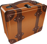 Steamer Luggage Lunch Box Lunch Box