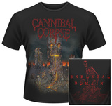 Cannibal Corpse- A Skeletal Domain Album Art (Front/Back) T-Shirts