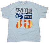 Led Zeppelin- North American Tour 75 T-skjorter