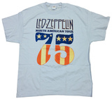 Led Zeppelin- North American Tour 75 T-Shirt
