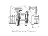 """""""If a sixth borough opens up, I'll let you know."""" - New Yorker Cartoon Premium Giclee Print by Danny Shanahan"""