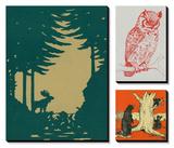 Im Wald Kunstdruck von  Lantern Press