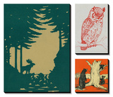 In the Woods Print by  Lantern Press