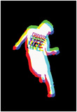 Go-Go Dancing Silhouette Affiches