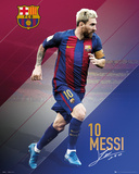 Barcelona- Messi 16/17 Poster