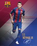 Barcelona- Neymar 16/17 Affiches