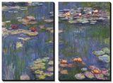 Water Lilies (Nympheas), c.1916 Poster by Claude Monet