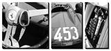 Vintage Ferrari Posters by  NaxArt