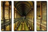 Gallery of the Old Library, Trinity College, Dublin, County Dublin, Eire (Ireland) Art par Bruno Barbier