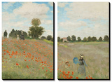 Poppy Field, Near Argenteuil, c.1873 Posters by Claude Monet