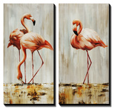 Flamingo Prints by Sydney Edmunds