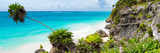 ¡Viva Mexico! Panoramic Collection - Caribbean Coastline - Tulum Photographic Print by Philippe Hugonnard