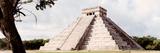 ¡Viva Mexico! Panoramic Collection - El Castillo Pyramid - Chichen Itza XII Lámina fotográfica por Philippe Hugonnard