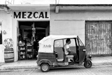¡Viva Mexico! B&W Collection - Mezcal Tuk Tuk Photographic Print by Philippe Hugonnard
