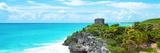 ¡Viva Mexico! Panoramic Collection - Caribbean Coastline in Tulum IX Fotografie-Druck von Philippe Hugonnard